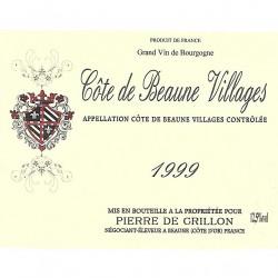 1999 CÔTE DE BEAUNE VILLAGES 75 cl Pierre de CRILLON