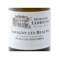 "SAVIGNY-LES-BEAUNE Blanc ""Les Gollardes"" 2017 Domaine LEBREUIL"