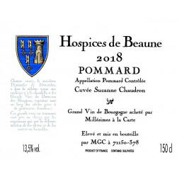 POMMARD Cuvée Suzanne Chaudron 2018 Hospices de Beaune  150 CL