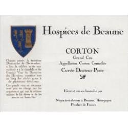 CORTON GRAND CRU CUVÉE Docteur PESTE 2011 Domaine des HOSPICES DE BEAUNE